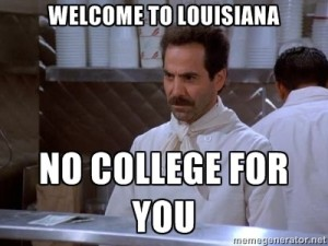 No College for You